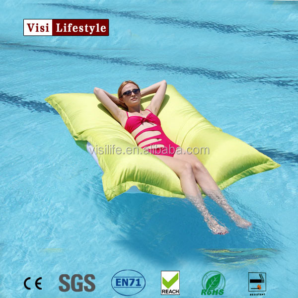 High quality outdoor floating bean bag swimming pool bean bag