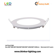 2015 New CE/RoHS/FCC Approval LED round Panel Light 6W LED Panel