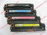 high quality CB540A/541A/542A/543A color toner cartridge compatible for hp 1215/1515n