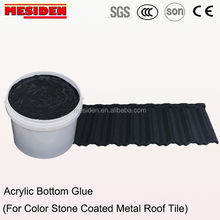 Hot Sales Water-based Acrylic Adhesive/Glue for Color Stone Coated Metal Roof Tile