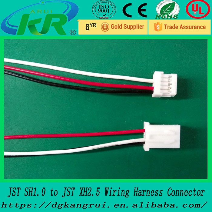Replacement Jst Sh1.0 To Jst Xh 2.5 5pin To 2pin Wire Harness ...