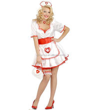 Adult Halloween Costume Party Cosplay Sexy Hot Nude Nurse Doctor Costume Women