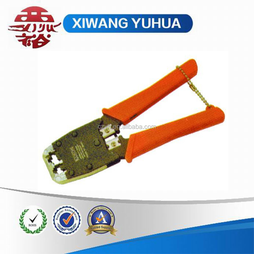 YH8434 Professional modular crimping tool with the cutting and stripping function