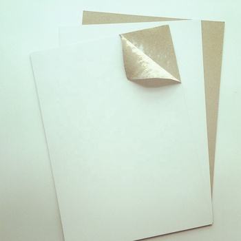 One side coated recycled c1s duplex paper board with grey back