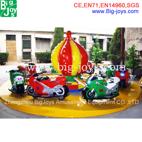 amusement park motorcycle race children carousel ride for sale, indoor mall children carousel ride