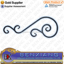 Wrought Iron C Scrolls, ornamental iron scroll