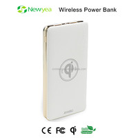 (A7) OEM ODM Waterproof Wireless Soloar Power Bank With Dual USB Output And LED Flashlight