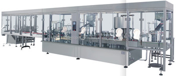 High Speed Eye Drop Aseptic Filling Production Line