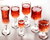 Low MOQ 300 ml Tulips Flower Shape Lead Free Crystal Red Wine Tasting Cup