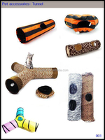 Professional factory wholesale pet accessories, pet tunnel, Cattery, doghouse, pet tent