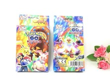 Wholesale online hot game pokemon go kid card games 100 pcs include 80 EX Ordinary and20 MEGA cards