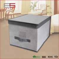 handmade useful garden wooden tea set storage box