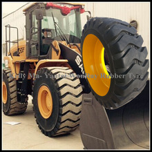 low price construction heavy equipment backhoe loader wheel 20.5-25 solid tires
