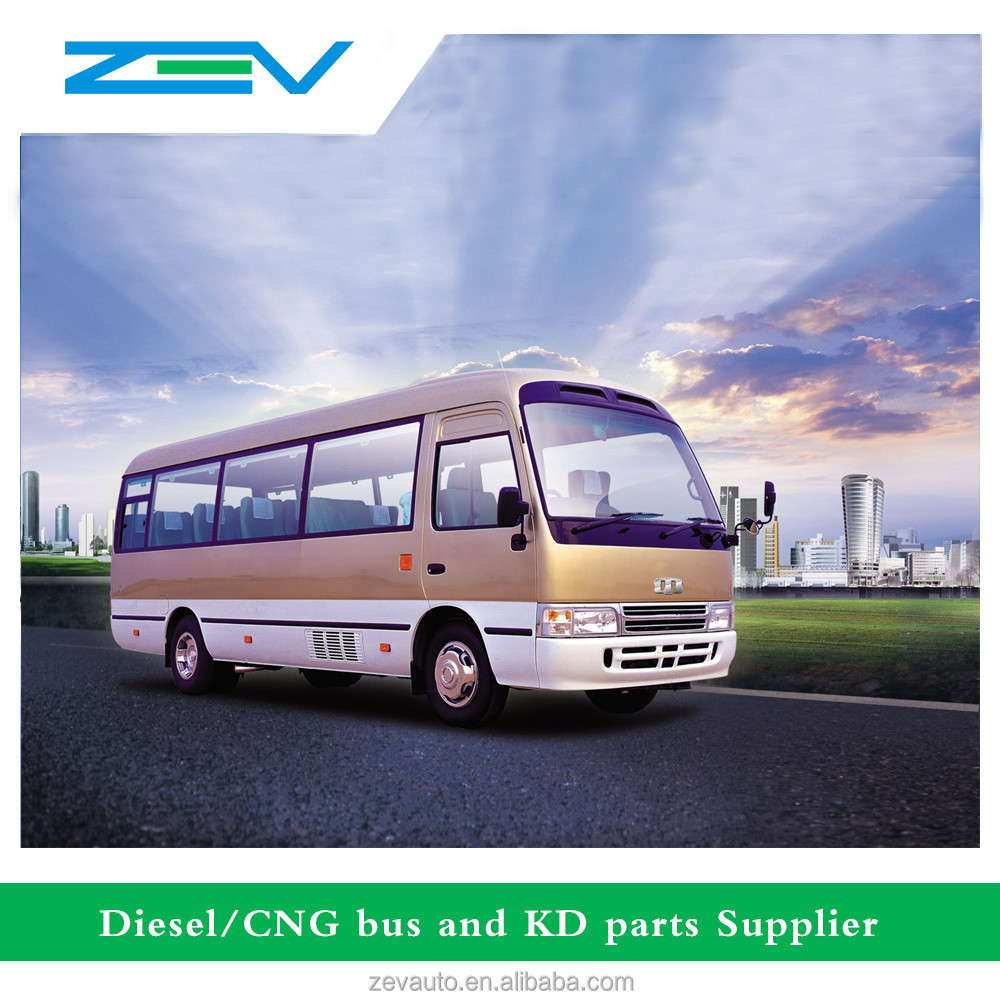 China similar toyota coaster bus price mini bus not used bus