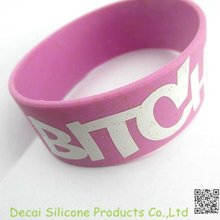 2012 Charming promotional gift cheap custom silicone wristbands no minimum
