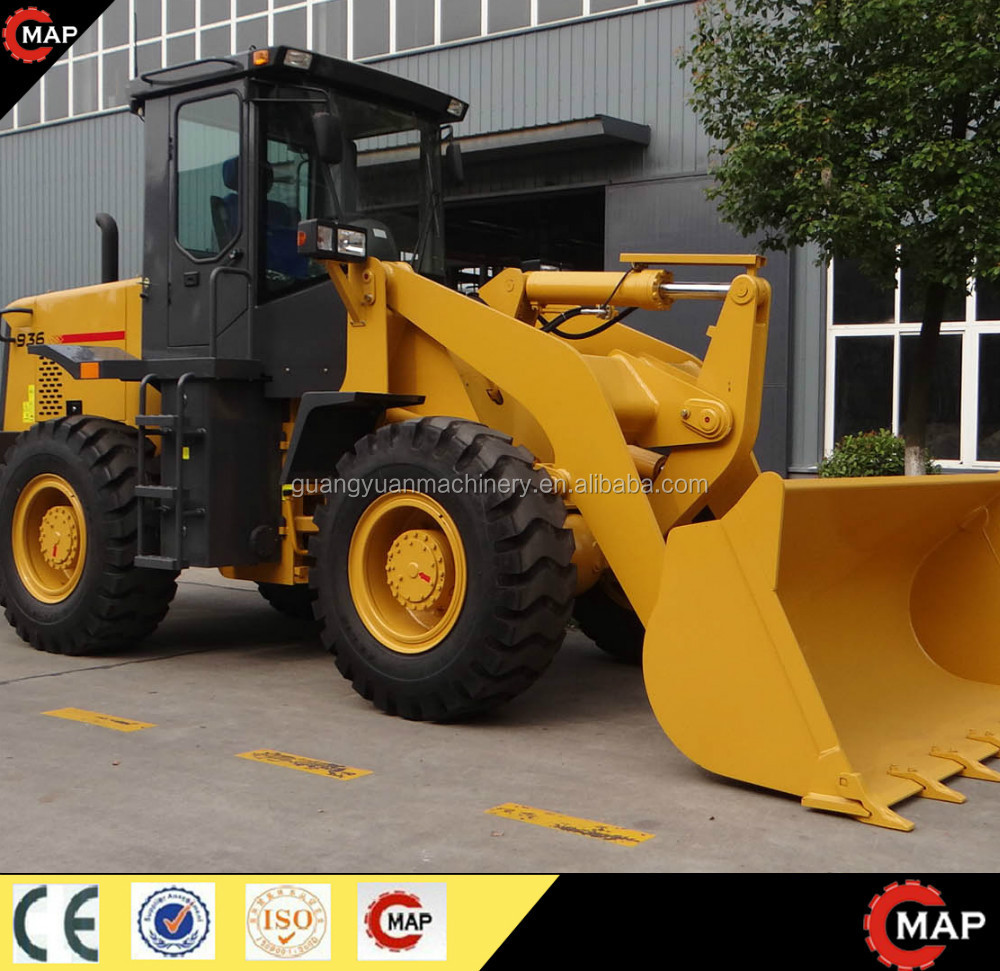 Mddle size wheel loader ZL30 with CE for sale, construction machine 3ton hydraulic
