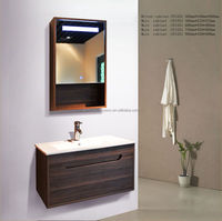 Hot selling modern particle board bathroom wall cabinet