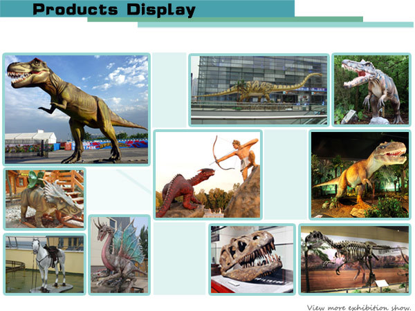 Life Size Dinosaur Motion Sensor Zigong Supplier