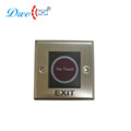 Aluminum alloy 24V infrared door release no touch exit button with NO NC COM