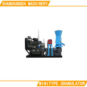 Flat die ring mold small feed pellet machine sawdust granule machine