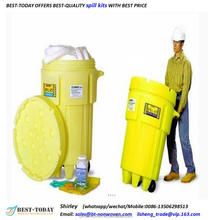Best Today's 240 Ltr Chemical absorbent Wheeled Oil Spill Kit