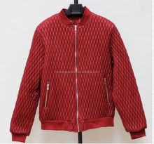 bomber winter jacket custom pu clothing wholesale leather man jackets