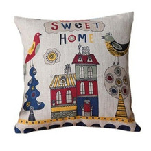 Latest design quality cartoon velvet cushion cover wholesale 2015 design pattern sofa Hold pillow Case cover