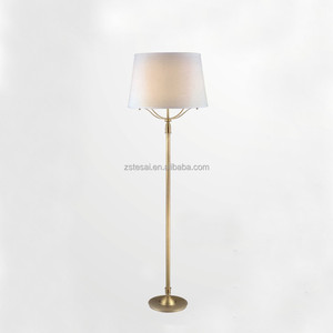 High quality reading decorative copper floor lamp for bedroom/living room decoration