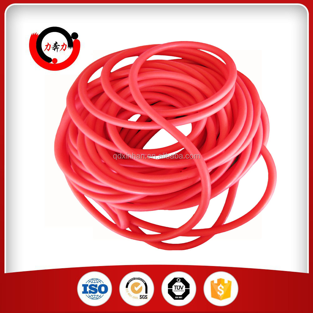 8mm Thin Wall Colored Soft Rubber Tubing