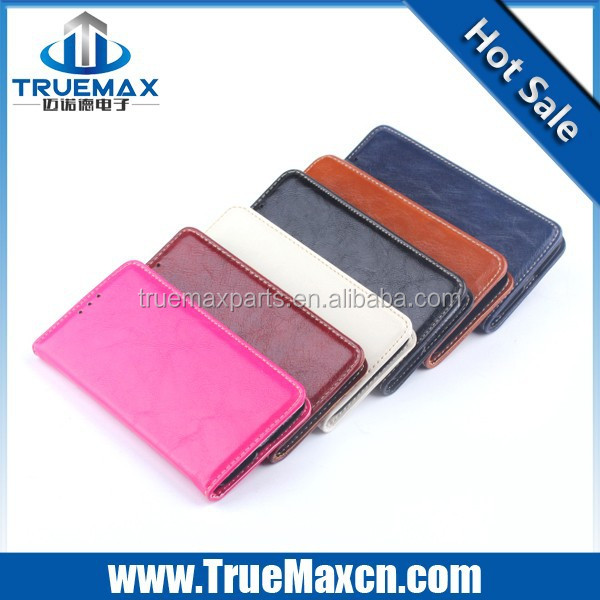 Colorful PU Leather Case for Samsung Galaxy S6 Edge