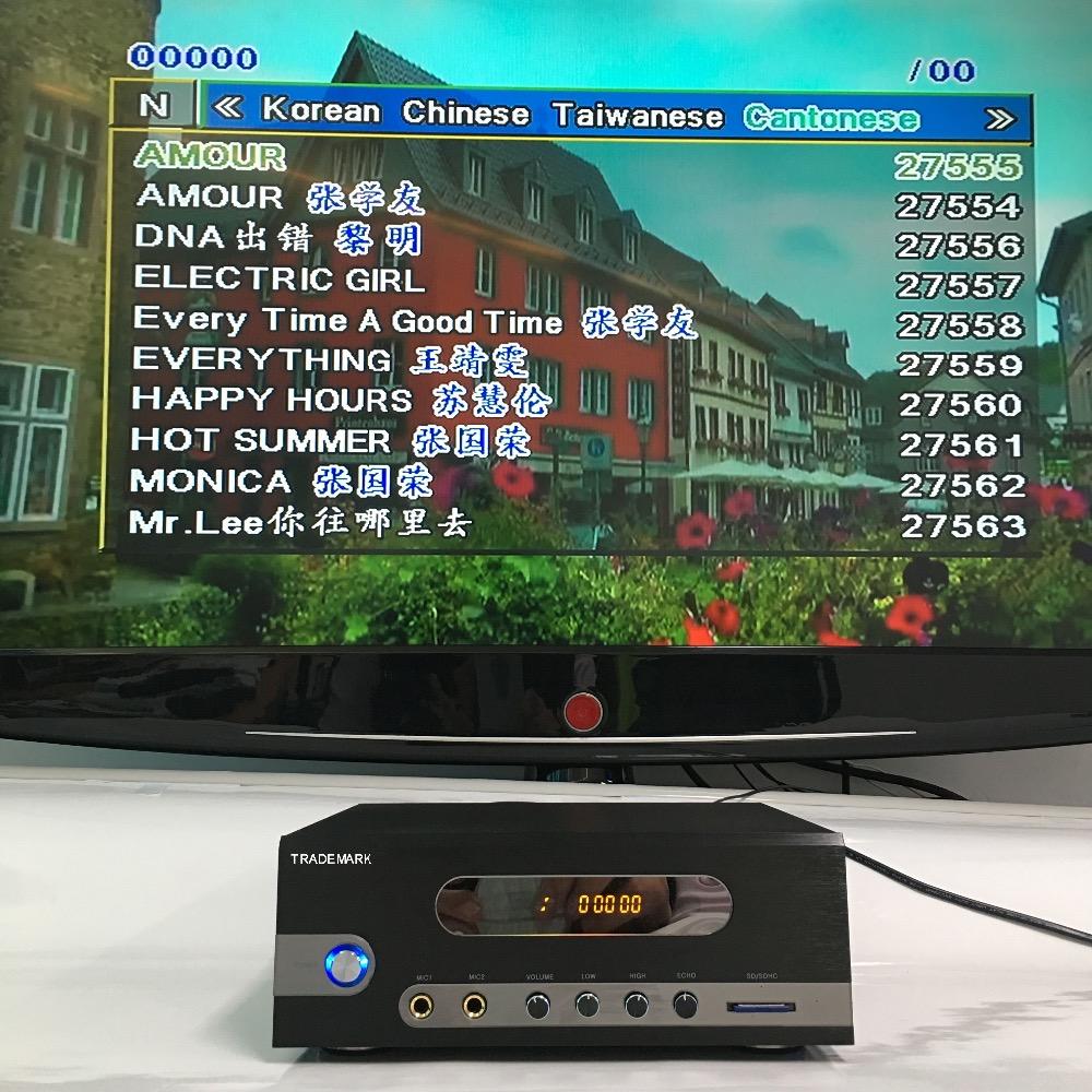 Mega Vision Karaoke-player,Karaoke-maschine Mit Songs,Karaoke ...