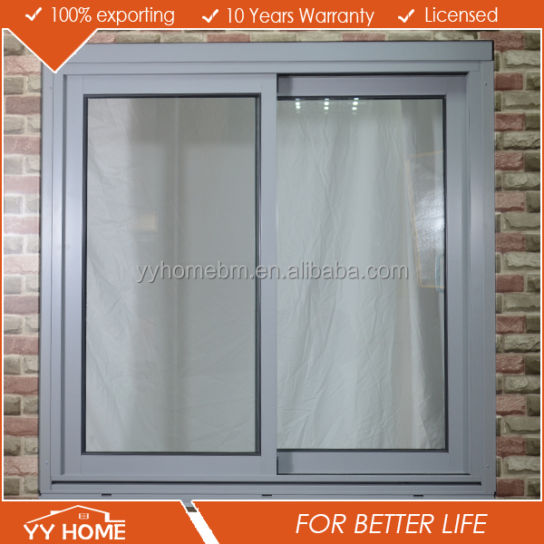 windows and doors supplier double glazed window grills design for aluminium frame sliding glass window