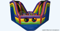 Summer giant inflatable water slide for adult inflatable bouncy sports