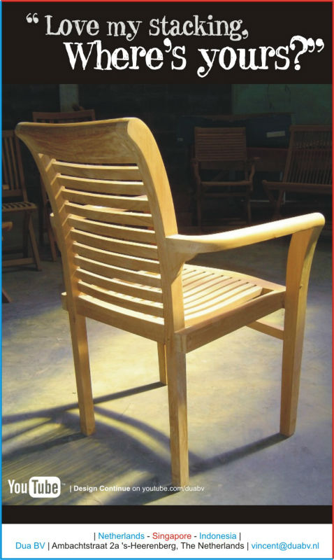 Lombok Stacking Chair