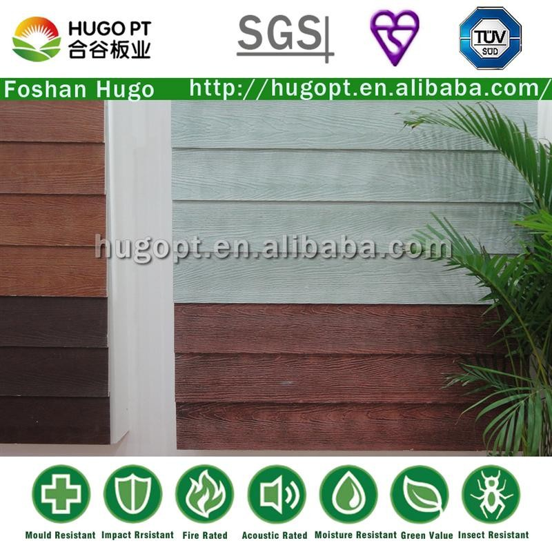 Non Harmful Wood Grain Competitive Price Clapboard Siding