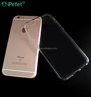 Wholesale High Quality Ultra Thin Clear Crystal TPU Case Cover For iPhone 6/s