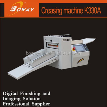K330A electric manual feeding 2 Model Dot line cutting and Creasing machine
