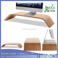 Monitor bamboo laptop cooling computer Stand or table for Apple iMac All-in-one Computer Pro All laptop with desk as seen on tv