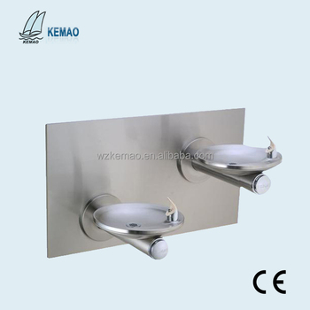 Wall mounted drinking water fountain for school use,Drinking water fountain bubbler,wall mounted water dispenser