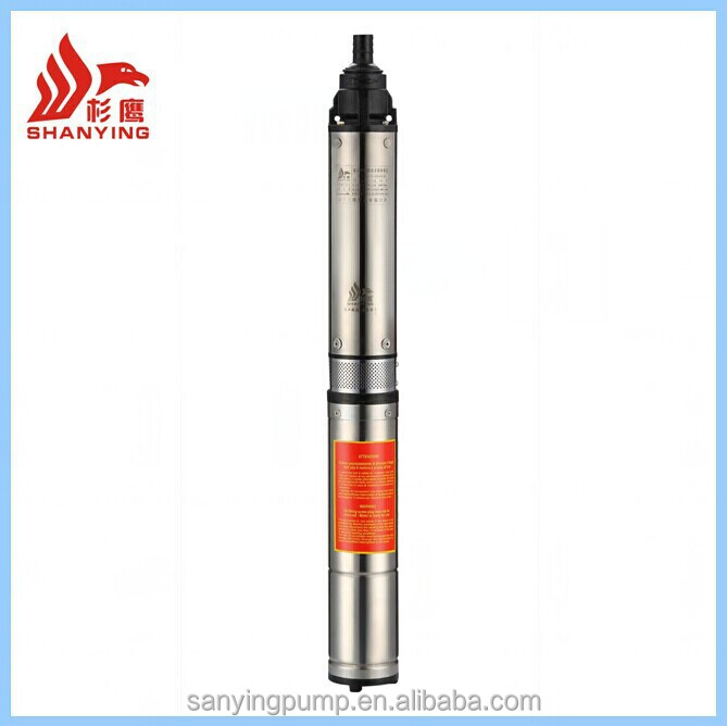 Y100QJ Very Competitive Stainless Steel Deep Well Submersible Pump