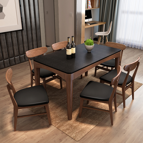 Leather seater restaurant furniture wooden dining <strong>chair</strong>