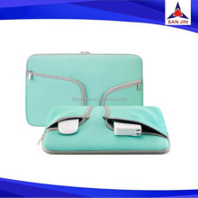 Waterproof Sublimation handle neoprene laptop sleeve with zipper