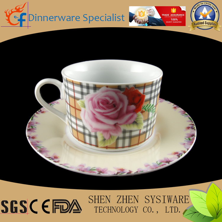 Best selling disposable tea cup and saucer wholesale factory direct sale