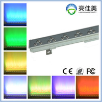 Building Lighting 36W DMX512 RGB or single color Waterproof LED Linear Wall Washer Lighting outside