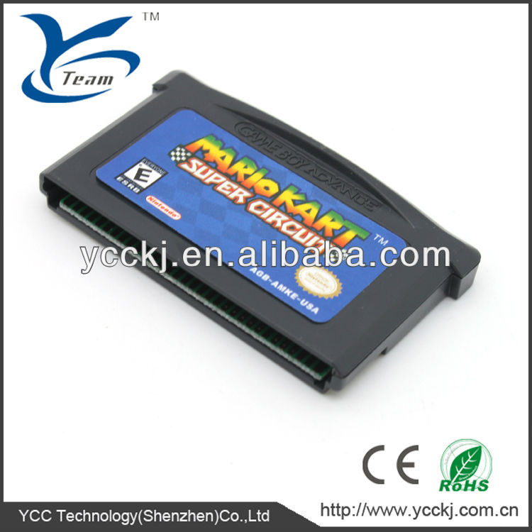 The lower price for GBA game card from china