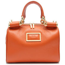 New arrival exquisite special fashion design cow leather taiwan handbag