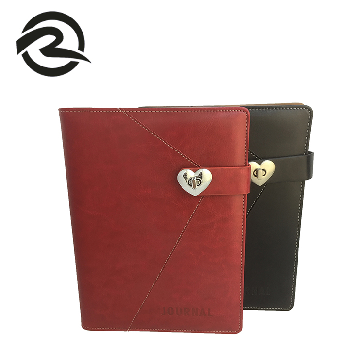 China Wholesale High Quality Customized Leather Paper Organizer Notebook