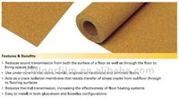 3mm Cork Underlay flooring cork padding