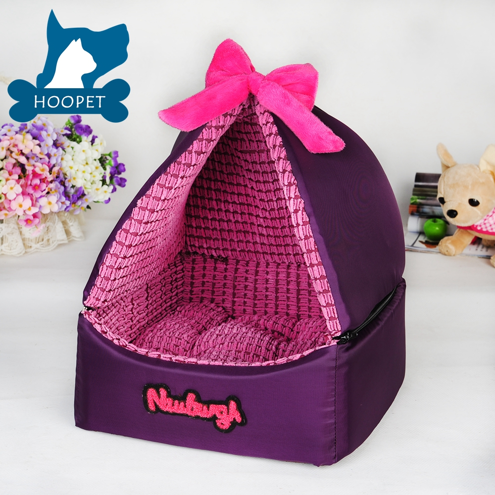 Hoopet Purple Portable Dog Kennel