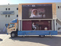 Outdoor mobile P10 led display advertising vehicle mobile truck